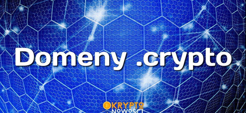 Zarezerwuj zdecentralizowaną domenę blockchain .crypto